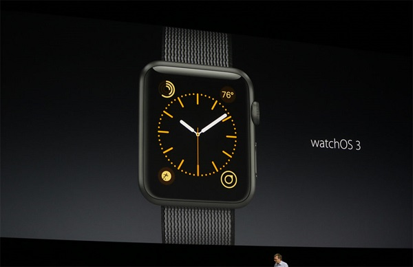 Watch OS 3 at WWDC