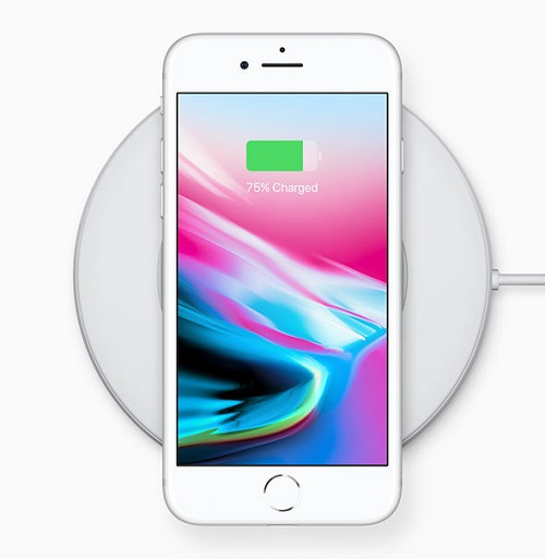 Wireless Charging iPhone 8
