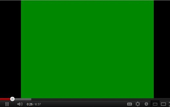 YouTube Green Screen